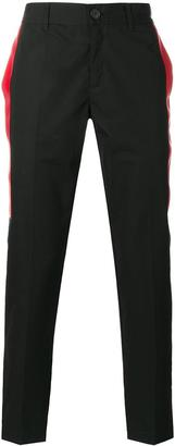 Givenchy side stripe tailored trousers $745 thestylecure.com