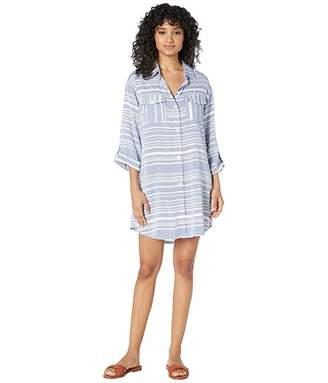 4b54678e7b Dotti Tassel Talk Shirtdress Cover-Up