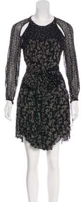 Etoile Isabel Marant Floral Cutout Dress