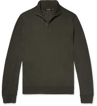 Ermenegildo Zegna Slim-Fit Wool Half-Zip Sweater