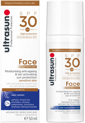 Ultrasun Tan Activator for Face SPF30 50ml