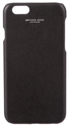 Michael Kors Leather iPhone Case