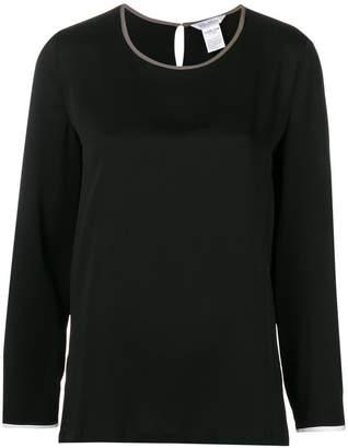 Max Mara long sleeved blouse