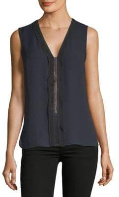 Tahari Colette Sleeveless Blouse