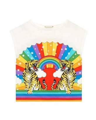 93f94ec43baa Gucci Rainbow Tiger Graphic T-Shirt, Size 4-12