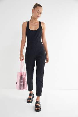 Urban Outfitters Denim Tank Top Jumpsuit