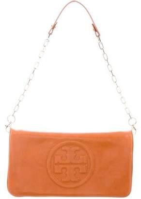 Tory Burch Logo Chain-Link Shoulder Bag