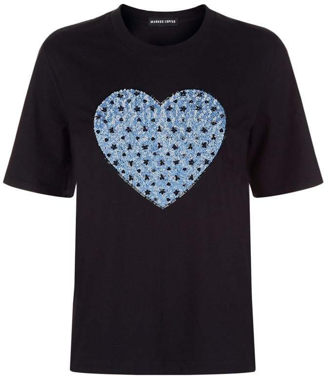 Markus Lupfer Flower Heart Alex T-Shirt