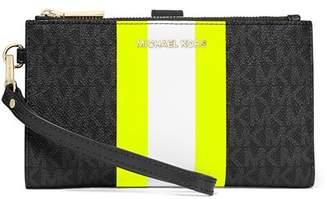 MICHAEL Michael Kors Double-Zip Wristlet