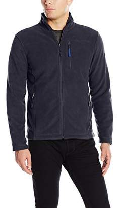 London Fog F.O.G. Fog by Men's Performance Fleece with Chest Zipper Pocket