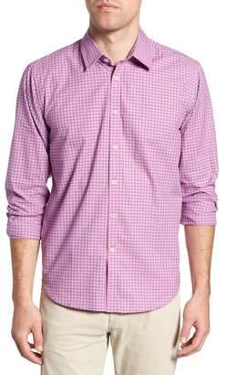 JEREMY ARGYLE Slim Fit Gingham Sport Shirt