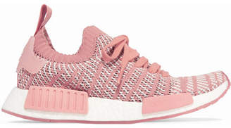 adidas Nmd_r1 Rubber-trimmed Primeknit Sneakers - Pink