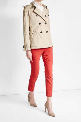 Woolrich Short Trench Jacket $449 thestylecure.com