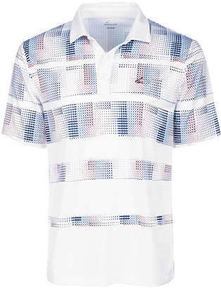 Greg Norman Attack Life by Men's Stanton Pixel Stripe Performance Polo, Created for Macy's