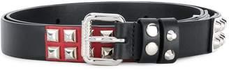 Prada studded style belt