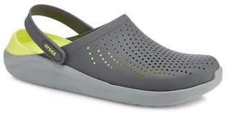 Crocs Grey 'Literide' Sandals