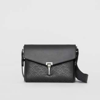 Burberry Small Perforated Logo Leather Crossbody Bag