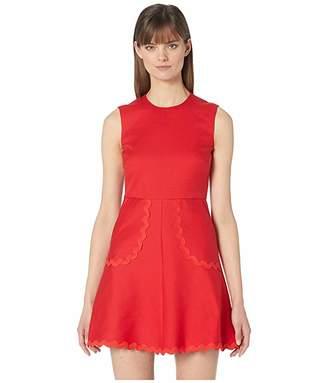 RED Valentino Abito Cady Cotton Dress