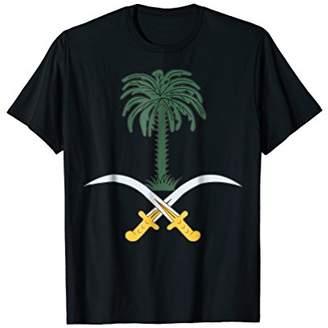 Saudi Arabia coat of arms T-shirt Tee Tees T Shirt Tshirt