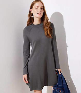LOFT Petite Swing Sweater Dress