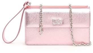 Dolce & Gabbana Phone Bag With Crystal