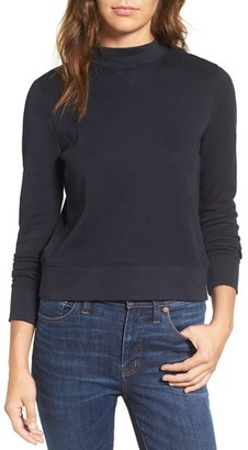 Women's Madewell Jodie Mock Neck Top $59.50 thestylecure.com