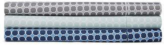 Hudson Park Collection 500TC Printed Flat Sheet, Queen - 100% Exclusive