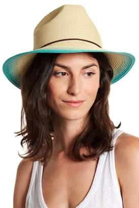 SAN DIEGO HAT Gradient Tie Detailed Fedora Hat