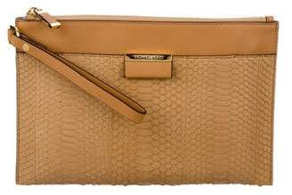 Michael Kors Large Zip Clutch w/ Tags