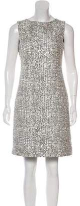 Akris Punto Patterned Mini Dress