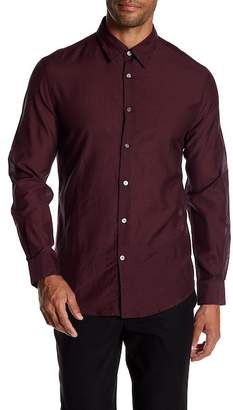 John Varvatos Collection Polka Dot Slim Fit Shirt