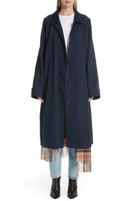 Vetements Scarf Trench Coat