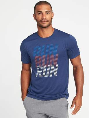 Old Navy Graphic Go-Dry Eco Performance Tee for Men