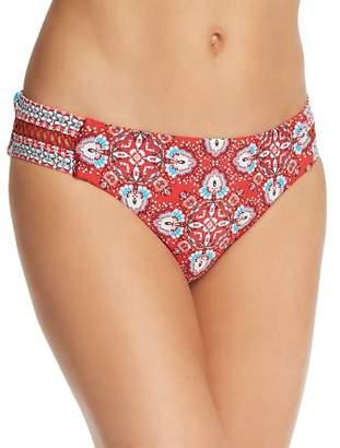 Laundry by Shelli Segal Lattice Tab Side Hip Bikini Bottom