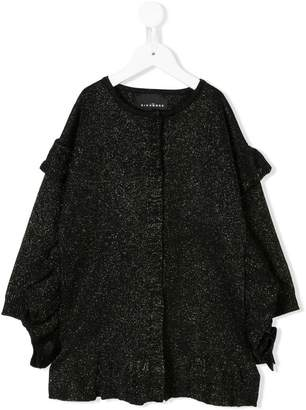 John Richmond Junior long-sleeve ruffle blouse