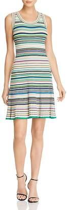 Milly Micro Stripe Knit Dress
