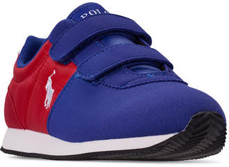 Polo Ralph Lauren Little Boys' Brightwood Ez Casual Sneakers from Finish Line