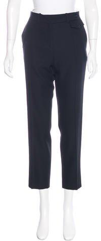 CelineCéline Wool Cropped Pants