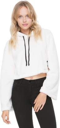 Juicy Couture Sherpa Hooded Pullover