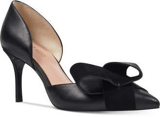 Nine West Mcfally d'Orsay Bow Pumps Women Shoes