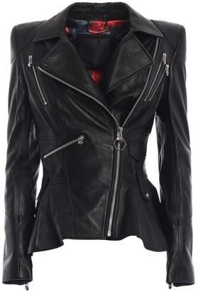 Philipp Plein Ailena Leather Jacket