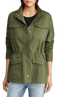 Lauren Ralph Lauren Petite Military Cotton Jacket