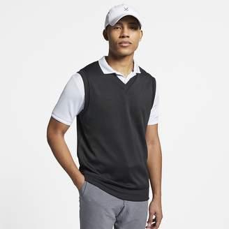 Nike Men's Golf Sweater Vest Dri-FIT