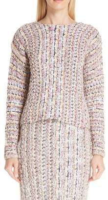 ADAM by Adam Lippes Tweed Sweater