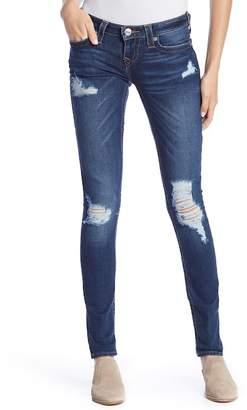 True Religion Skinny Flap Pocket Destroyed Jeans