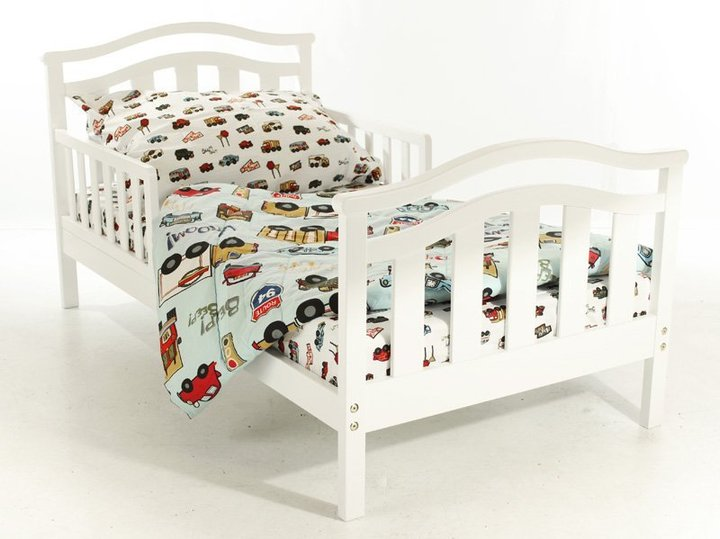 "Dream On Me Elora Collection"""" Toddler Bed - White"