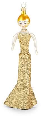 De Carlini Soffieria de Carlini Gold Dress Lady Ornament