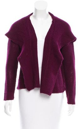 Inhabit Cashmere Hooded Cardigan w/ Tags $195 thestylecure.com