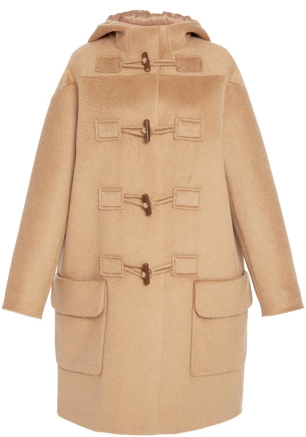 Paule KaPaule Ka Wool Duffle Coat with Hood