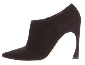 Christian Dior Songe Suede Booties